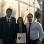 Minister ocenil Viktóriu Kažikovú, študentku SŠG ELBA