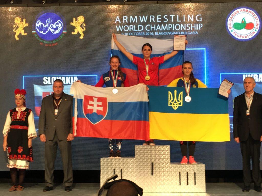 Strieborná medailistka Klaudia Lišková - Majstrovstvá sveta