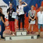 Nina Podracká - majsterka Slovenska v kickboxe