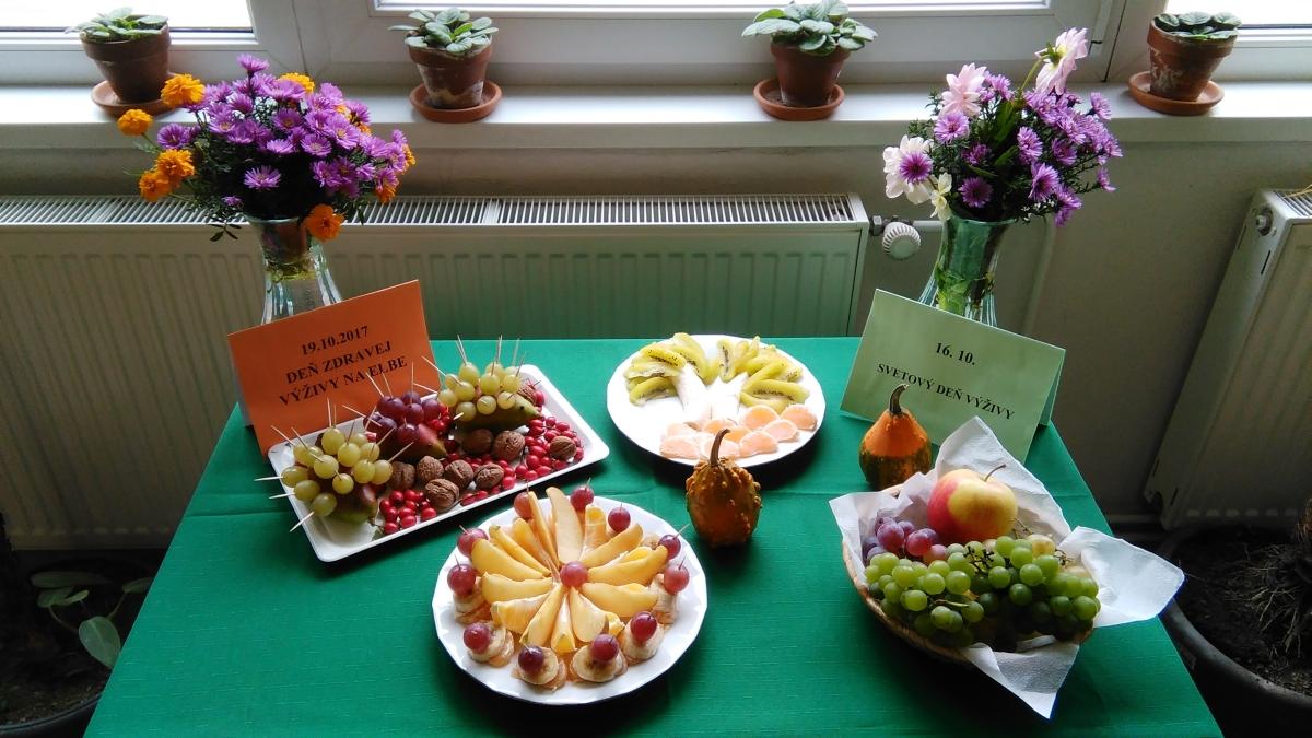 Elbáci pripravovali zdravé jedlá