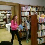 SŠG ELBA - Návšteva knižnice