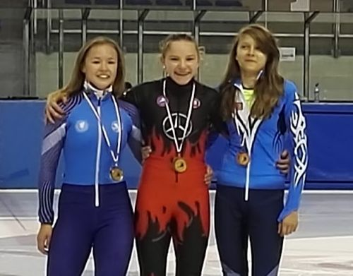 Rýchlokorčuliari získali 5 medailí