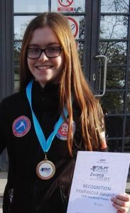 Alexandra Hympánová - zlato z Európskeho pohára Alpe Adria Trophy v Záhrebe