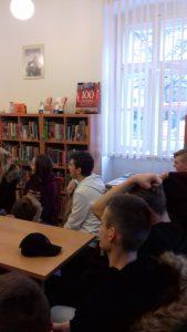 Návšteva Britského centra Knižnice P. O. Hviezdoslava v Prešove