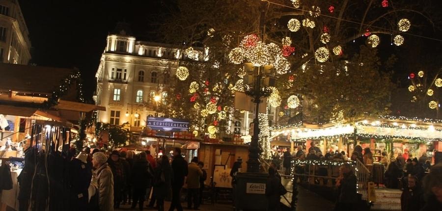 Vianočná Budapešť našimi očami