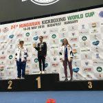 Bronzová medaila zo Svetového pohára v kickboxe