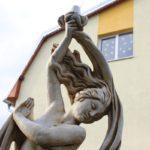 SŠG ELBA - Odhalenie sôch