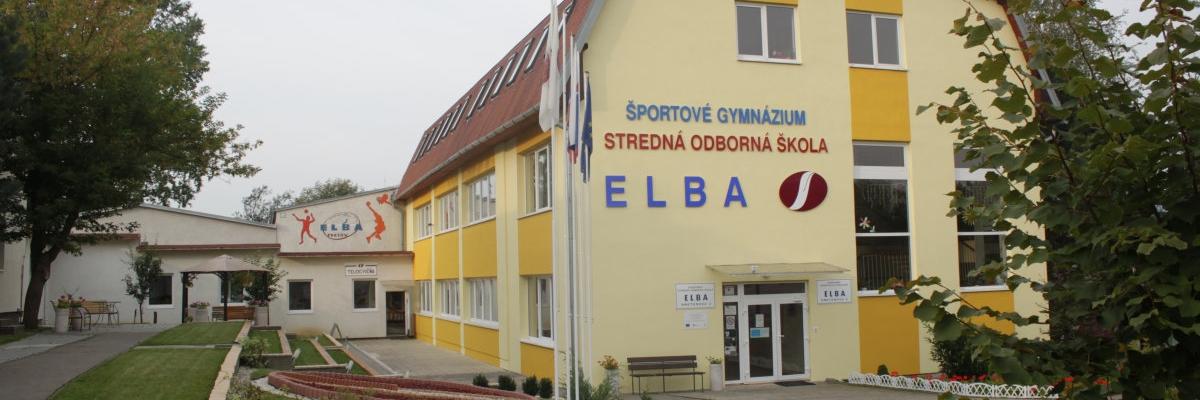 Budova školy - SŠG ELBA