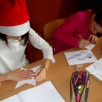 Vianočné pozdravy na hodine anglického jazyka v Príme