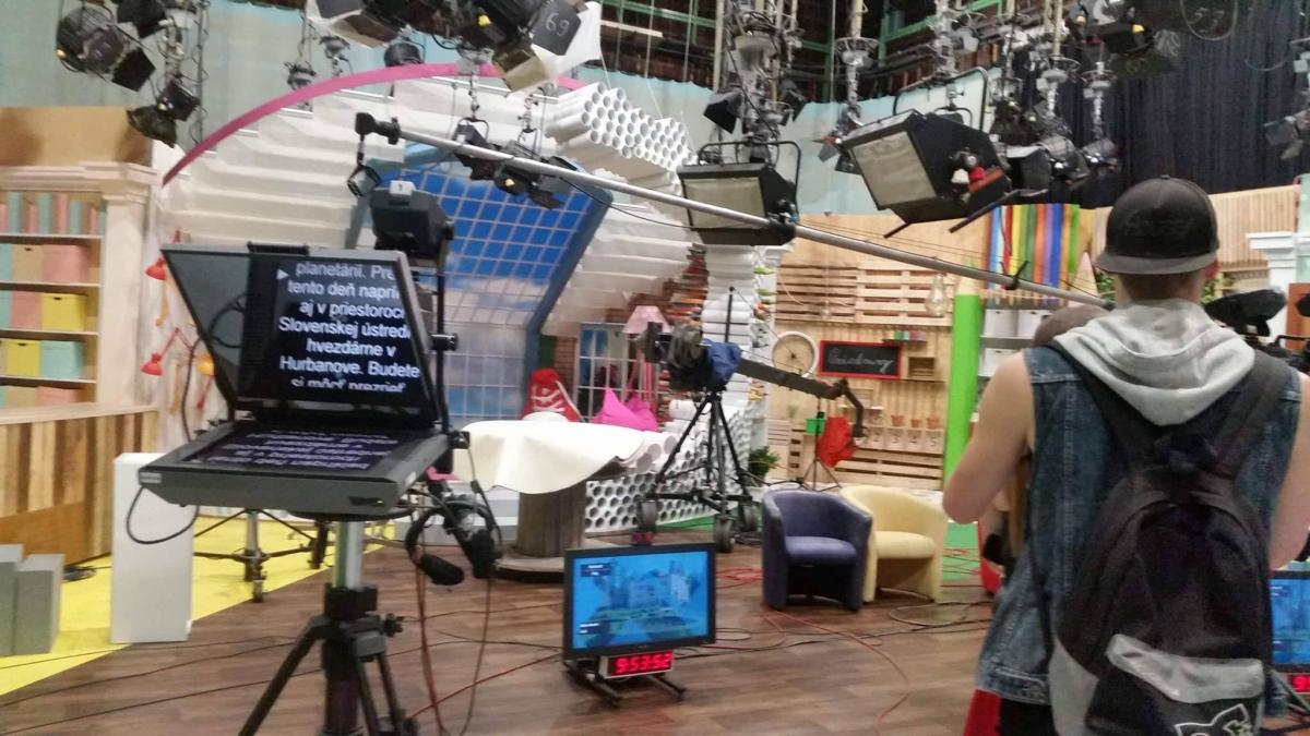 Exkurzia v RTVS v Košiciach