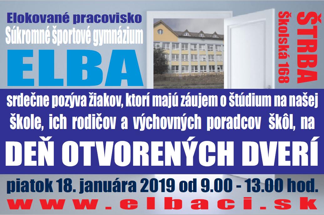 Pozvánka DOD Štrba 2018