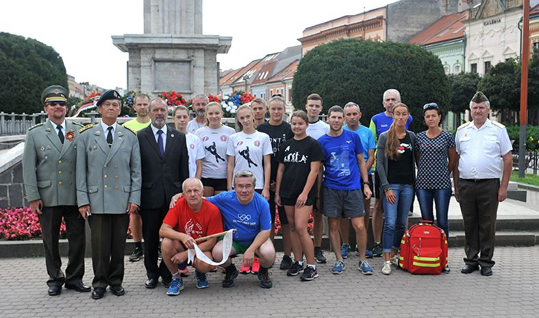Štafetový beh Prešov - Zlatá Baňa
