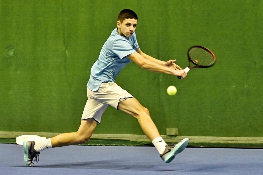 Lukáš na tenisovom turnaji v Austrálii